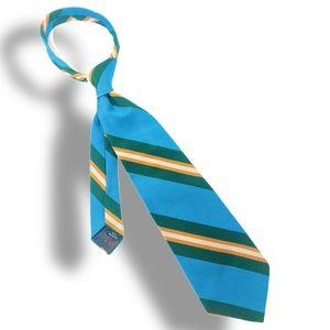 Contemporary Vintage Striped Necktie